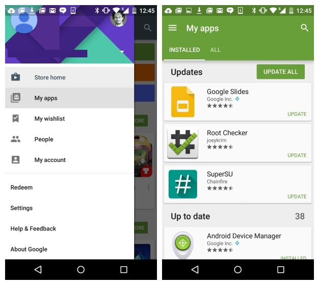 How to block dating apps on play store